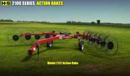 HS 2100series action rake
