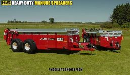 HS heavy duty manure spreader