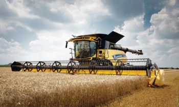 New Holland Combine Header To Harvest Small Grains, rapeseed, Maize