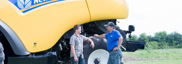 New Holland Service Team Available For Support And Equipment Check